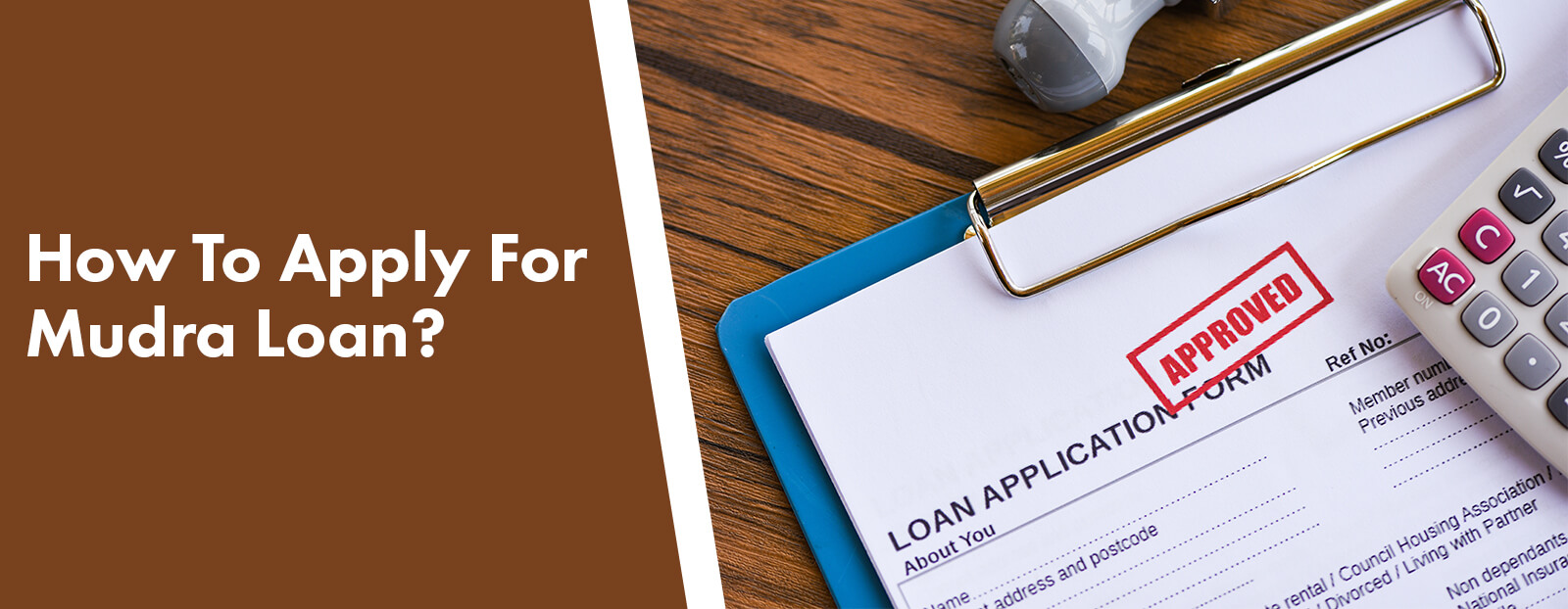 How To Apply For Mudra Loan?