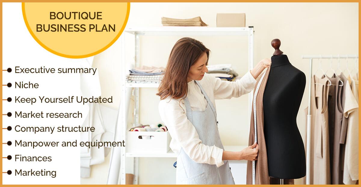 Boutique Business Plan Boutique Business Plan In India