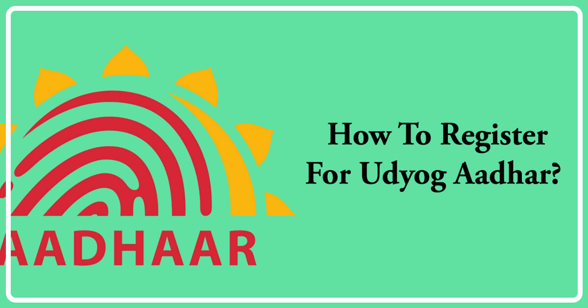 how to register udyog aadhar