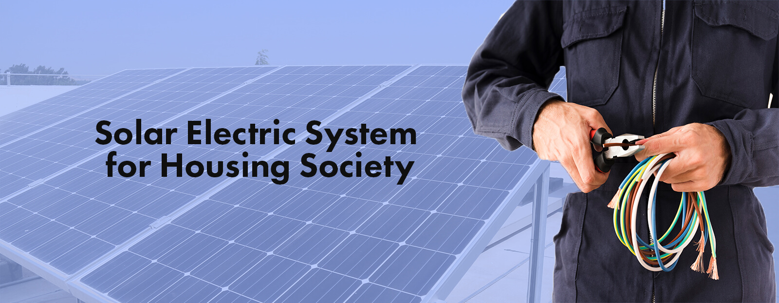Solar Electric System for Housing Society
