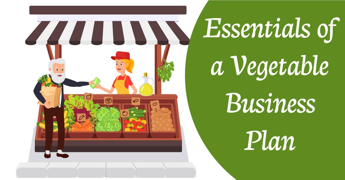 vegetable business plan