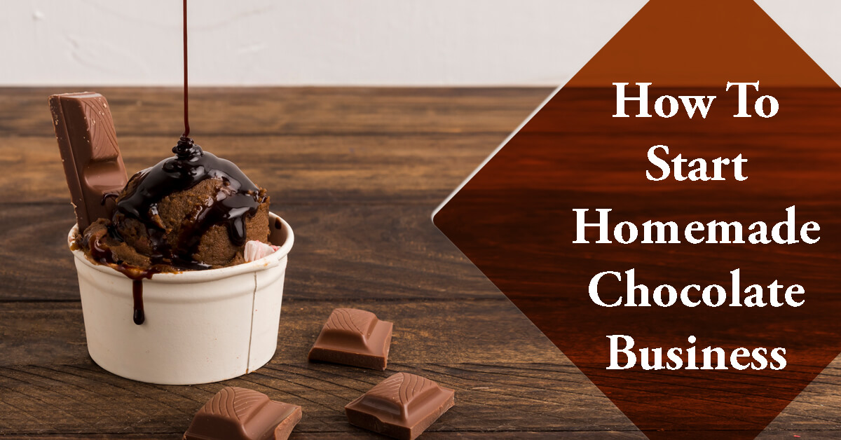 Homemade chocolate business