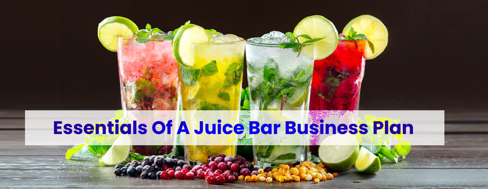 Essentials Of A Juice Bar Business Plan