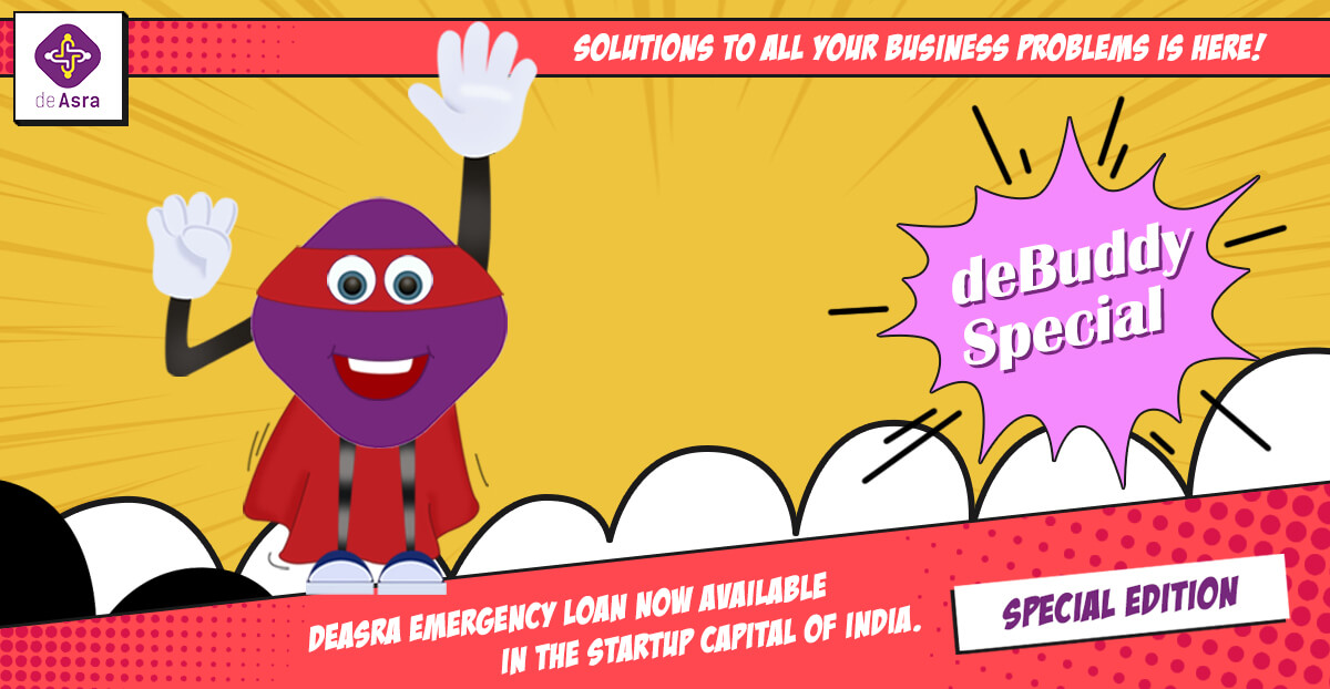 deAsra Emergency Loan Now Available in the Startup Capital of India