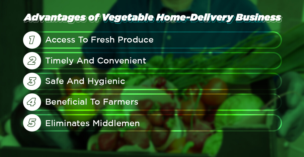 Vegetable home delivery business