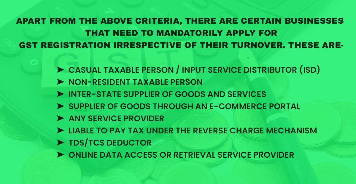 business gst registration