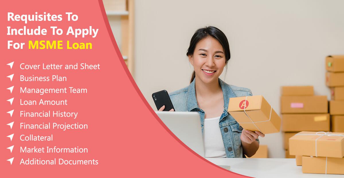 Apply for MSME loan